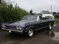 1968 Chevelle Convertible, currently has a 350 motor