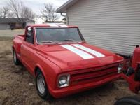 1968 Chevrolet C-10 (KS) - $8,500 C-10 Shortbed Pick Up
