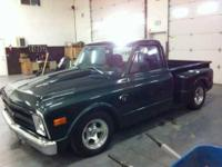 68 Chevy Stepside pickup in superb condition Nice