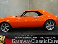 Stock #519-TPA  1968 Chevrolet Camaro $33,995 Engine:
