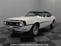This Ermine White 1968 Camaro coupe has impressed us