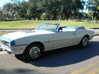 1968 Chevy Camaro Convertible for Sale, Restored with