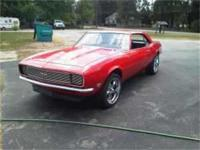 1968 RS Camaro numbers matching complete documented