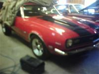 1968 Chevy Camaro for sale. New wheels, tires excellent