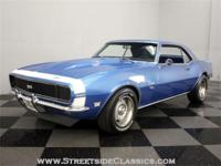 Its hard to go wrong with a 1968 Camaro SS finished in