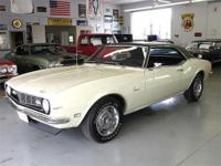 1968 CHEVY CAMARO with Palomino Ivory and black
