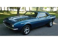 V-8 engine, 4-speed transmission, performance upgrades,