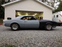 This is a 68 Camaro perfect for a weekend hobby or an