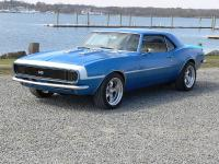 Up for sale is a beautiful 68 Camaro equipped with a