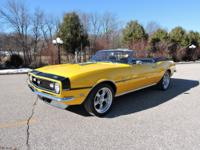 1968 Chevy Camaro  Convertible with Super Sport Trim is