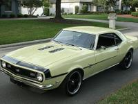 Rust & accident free muscle car. Factory correct