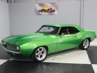 Stk#062 1969 Chevy Camaro SS Painted Synergy Green