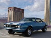 This 1968 Chevrolet Camaro Z28 Coupe features a 302 V-8