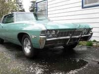 1968 Chevrolet Caprice American Classic A ONE OWNER