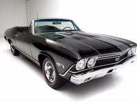 1968 Chevrolet Chevelle 138  TRUE TRIPLE BLACK 1968