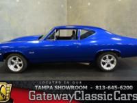 Stock #548-TPA 1968 Chevrolet Chevelle  $36,995 Engine: