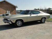 1968 CHEVROLET CHEVELLE SS. THIS CHEVELLE HAS A 396 CI