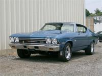 Just in is this beautifully restored Chevelle Yenko