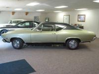 1968 Chevrolet Chevelle SS Coupe. It has 40,645