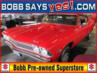 OWN A PIECE OF AUTOMOTIVE HISTORY!! 1968 Chevelle was