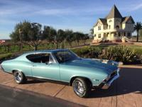 Real SS 1968 CHEVELLE SS 396 BIG BLOCK  Matching  #s 4