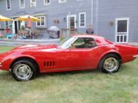 1968 Chevrolet Corvette in Excellent Condition Converts