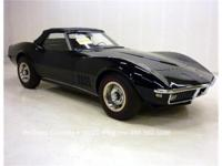 1968 Corvette Convertible, 327-350 hp, 4 speed, numbers