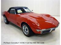 1968 Corvette Convertible, aluminum head L89, 4 speed,