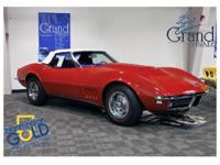 NSN-WOW..1968 Corvette, ex-Barn Found L88 Convertible,