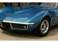 Here we have a 1968 Chevrolet Corvette Roadster painted