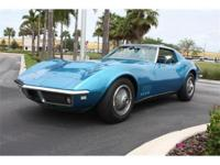 1968 Corvette with 16,996 ACTUAL miles and all the