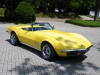 This amazing 1968 CORVETTE 327 Convertible runs and