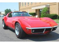 For more information about this Corvette, please call