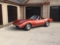 FINISHED IN THE ORIGINAL COLOR OF CORVETTE BRONZE CODE