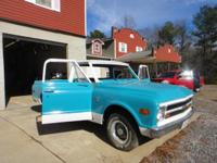 1968 Chevrolet truck with v-8 engine 3-speed on the