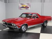 Stk#068 1968 Chevy El Camino SS SS Clone Painted a