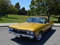 El Camino True SS with matching numbers 396 Big Block,