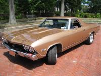1968 Chevrolet El Camino SS 396 Gold. The 1968 El