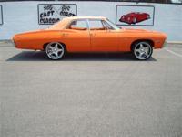 Stk#025 1968 Chevrolet Impala Exterior: Pearl Orange