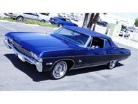 1968 CHEVROLET IMPALA CONVERTIBLE 327/275HP FRAME OFF