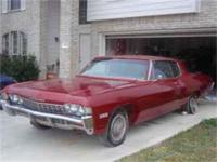 I have a 1968 Impala 2 door for sale. It runs well.