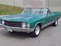 1968 Chevrolet Malibu El Camino, #?s matching motor