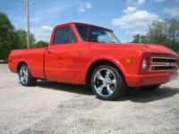 1968 Chevy C10 Shortbed Fleetside 350ci, auto o/d