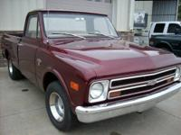 im listing a 1968 chevy c10 short wide for a friend.