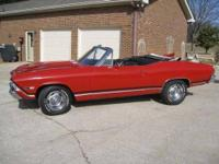 This is a 1968 SS Chevelle(clone) Convertible in great