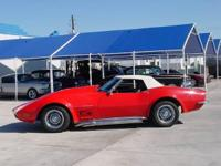 1968 Chevy Corvette Convertible - New Convertible Top,