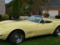 BEAUTIFUL Corvette - about 95 % brought back. 500 miles