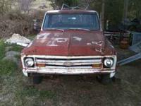 1968 Chevy LWB with NO MOTOR OR TRANNY. Rolling chassis