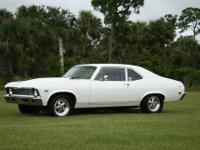 I have a 1968 Chevy Nova , the car is in great shape,
