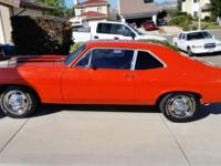 I am selling a 1968 Chevy Nova (Chevy Nova II). It is